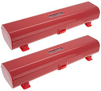 Kuhn Rikon Set of 2 Plastic Wrap and Foil Dispensers - K47114