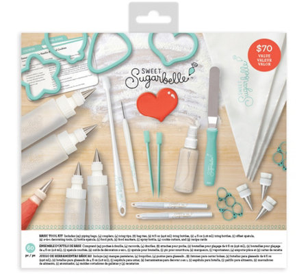 Sweet Sugarbelle 60-Piece Basic Decorating ToolKit