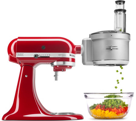 Kitchenaid Premium Food Processor Stand Mixer Attachment - Page 1