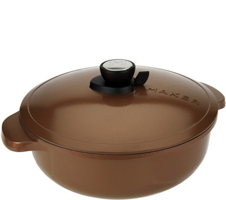 Maker Homeware 5 quart Dutch Oven with SmartSteam Technology