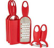 Kuhn Rikon 5-piece Swiss Grater and Peeler Set - K45215