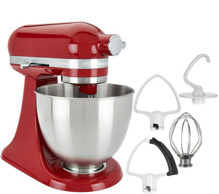 Kitchen Aid kitchenaid 3.5qt. mini artisan stand mixer with flex edge beater