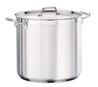 Tramontina 20-qt Pro. Covered Stock Pot with Stainless Lid - K121316