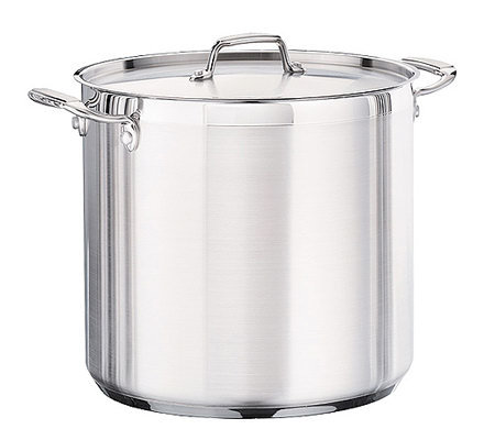 Tramontina 20-qt Pro. Covered Stock Pot with Stainless Lid