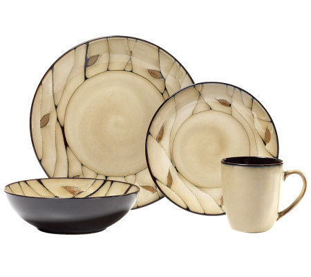 Pfaltzgraff Everyday Briar 16-Piece DinnerwareSet