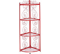 Temp-tations 4-Tier Corner Rack - K46516