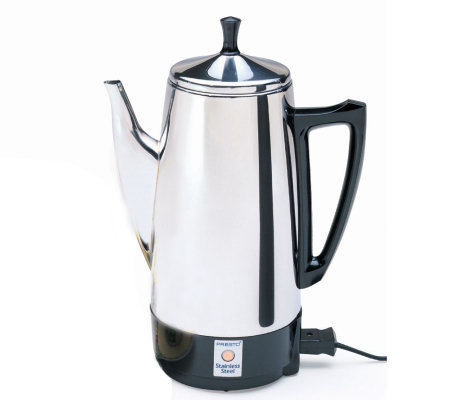 Presto 12-cup Stainless Steel Perk Coffee Maker