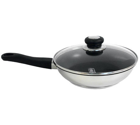 "SPT 10"" Nonstick Skillet with Glass Lid"