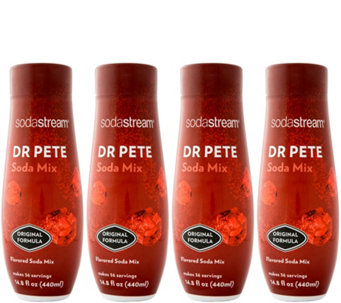 SodaStream Fountain Style Dr Pete Sparkling Drink Mix - K305017