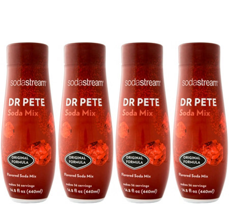 SodaStream Fountain Style Dr Pete Sparkling Drink Mix