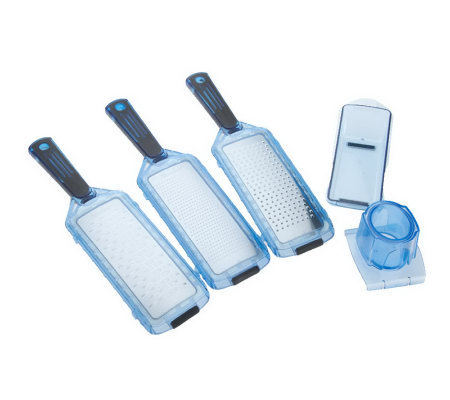 Genius 5 Piece Kitchen Grater Set Page 1