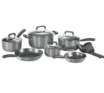 T-Fal D913SC64 Signature Hard Anodized 12-PieceCookware Set - K299718