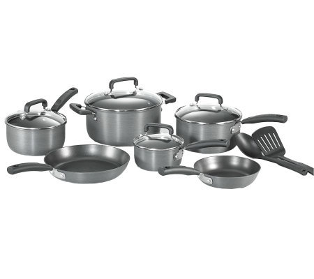 T-Fal D913SC64 Signature Hard Anodized 12-PieceCookware Set