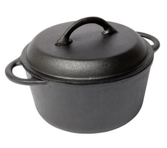 Country Cabin Origins Preseasoned Cast-Iron 5-qt Dutch Oven - K301318