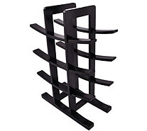 Sorbus Bamboo 12-Bottle Wine Rack - K306118