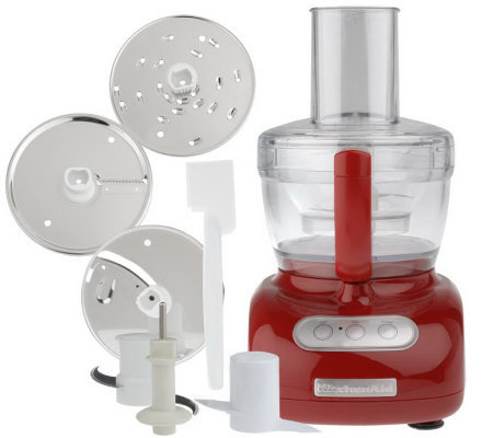 KitchenAid 9-Cup 700 Watt Food Processor w/Pulse Control and Accessories