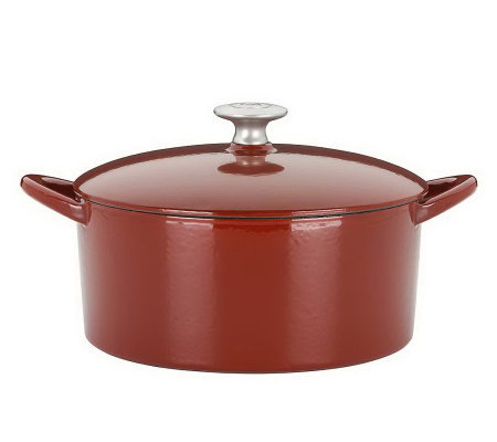 Mario Batali by Dansk Classics Cast-Iron 4-qt Round Dutch Oven