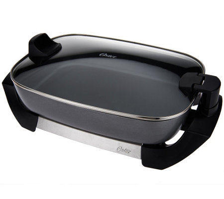Oster 12 Quot X 16 Quot Electric Skillet W Glass Hinged Lid Page