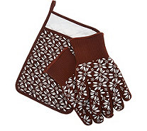 Temp-tations Old World 3-piece Glove & Trivet Set - K45219