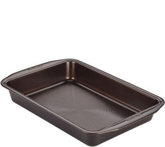 "Circulon Symmetry Nonstick 9"" x 13"" RectangularCake Pan - K305920"