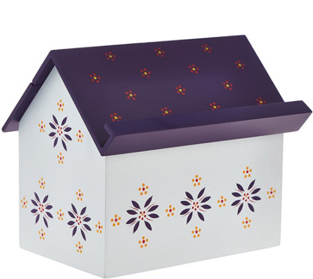 Temp-tations Recipe Box with 50 Lined Recipe Cards