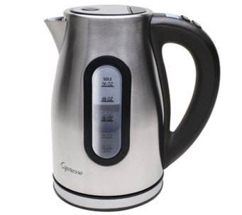 Capresso H2O PRO Programmable Cordless Water Kettle - K132421