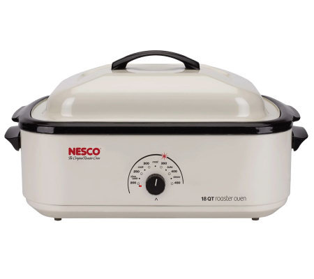 Nesco 18-qt Ivory Nonstick Roaster