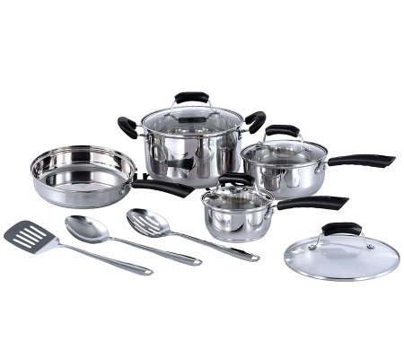 SPT 11-Piece Stainless Steel Cookware Set