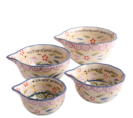 Temp-tations Old World Sentiment Measuring Cups