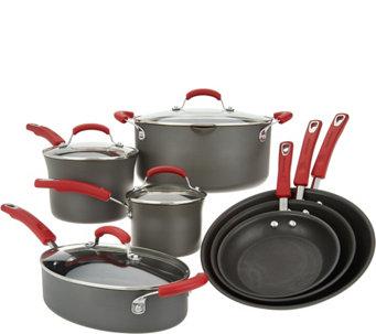 Rachael Ray 11 Piece Hard Anodized Cookware Set   K46621