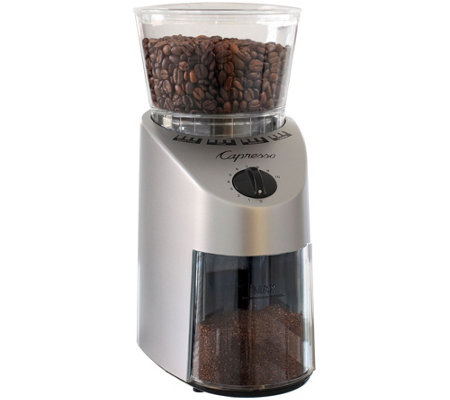 Capresso Infinity Coffee Grinder-Stainless