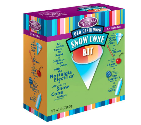 Nostalgia Electrics SCK-800 Snow Cone Kit