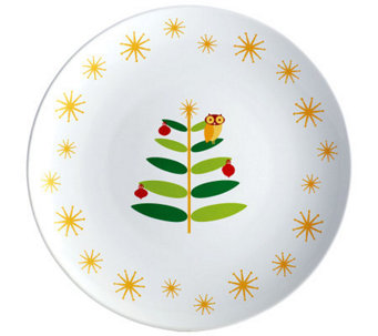 "Rachael Ray Holiday Hoot 14"" Round Platter - K300622"