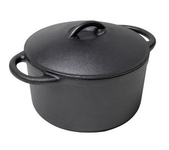 Country Cabin Origins Preseasoned Cast-Iron 3-qt Bean Pot - K301322