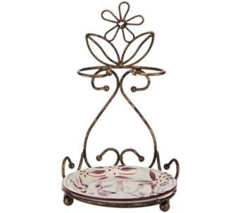 Temp-tations Old World Spoon Rest Antique Gold - K42122