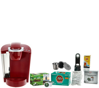 Keurig K55 Coffee Maker w/ My K-Cup, 31 K-Cup Pods & Water Filters - K44622