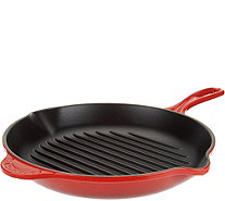"Le Creuset Enameled Cast Iron 10.25"" Round Grill Pan - K45622"