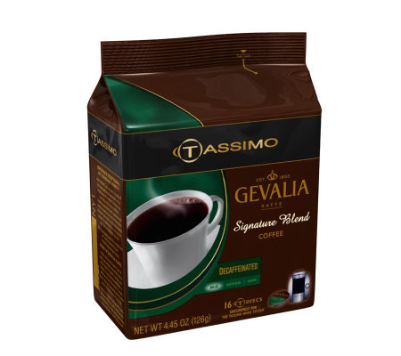 Tassimo Gevalia Signature Blend Decaffeinated -80 T Discs
