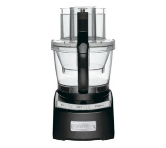 Cuisinart Elite Collection FP-12BK Food Processor - Black - K297423