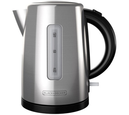 Black & Decker 1.7-Liter Cordless Electric Kettle