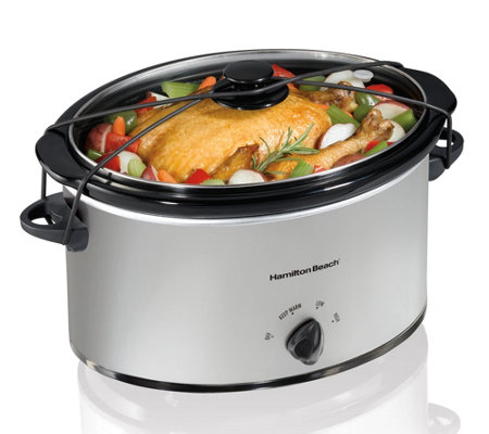 Hamilton Beach 7-qt Oval Slow Cooker