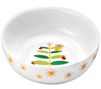 "Rachael Ray Holiday Hoot 10"" Serving Bowl - K300624"