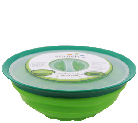 Squish 5-qt Salad Bowl with Lid