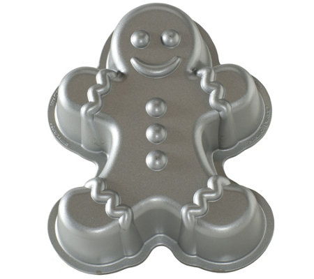 Nordic Ware Gingerbread Man Cake Pan