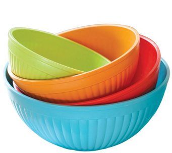 Nordic Ware Set of 4 Prep N' Serve Bowls - K304824