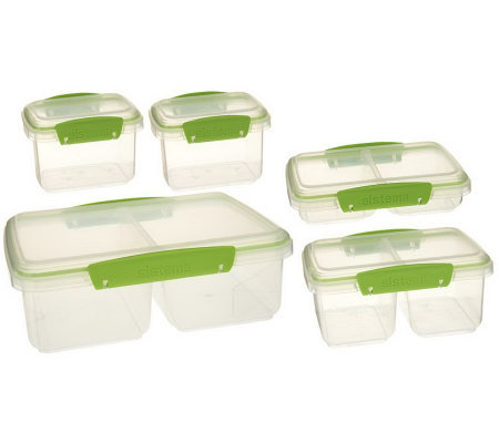 Sistema 5-piece Split Container Storage Set