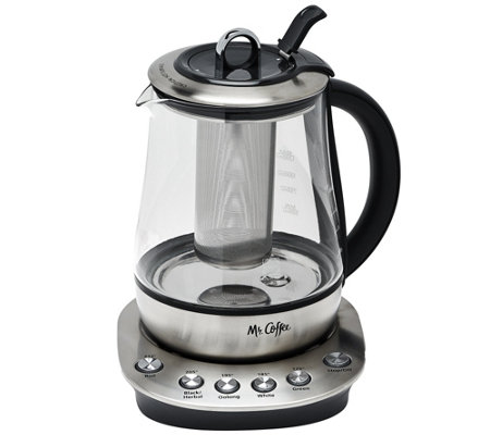 Mr. Coffee 2-in-1 Hot/Cold Tea Maker and Kettle