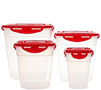 Lock & Lock 4-piece Nestable Square Pantry Set - K44524