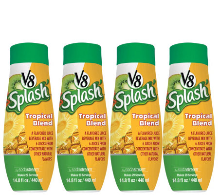 SodaStream V8 Tropical Blend Sparkling Drink Mix
