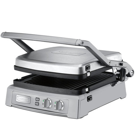 Cuisinart Griddler Deluxe - Brushed Stainless Steel